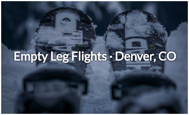 empty leg flights in denver, aspen, and colorado