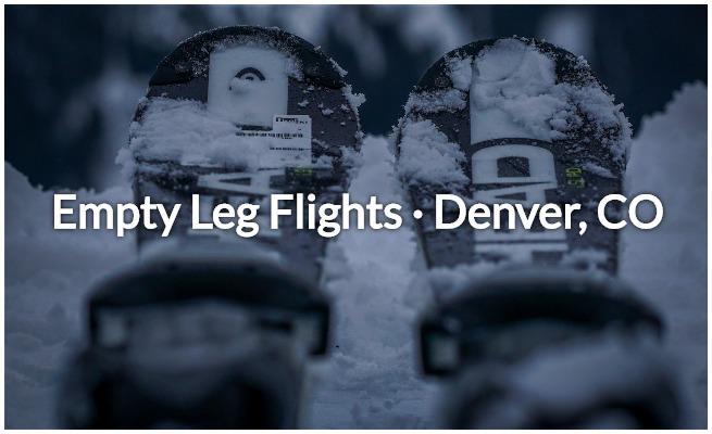 empty leg flights in denver, aspen, and colorado
